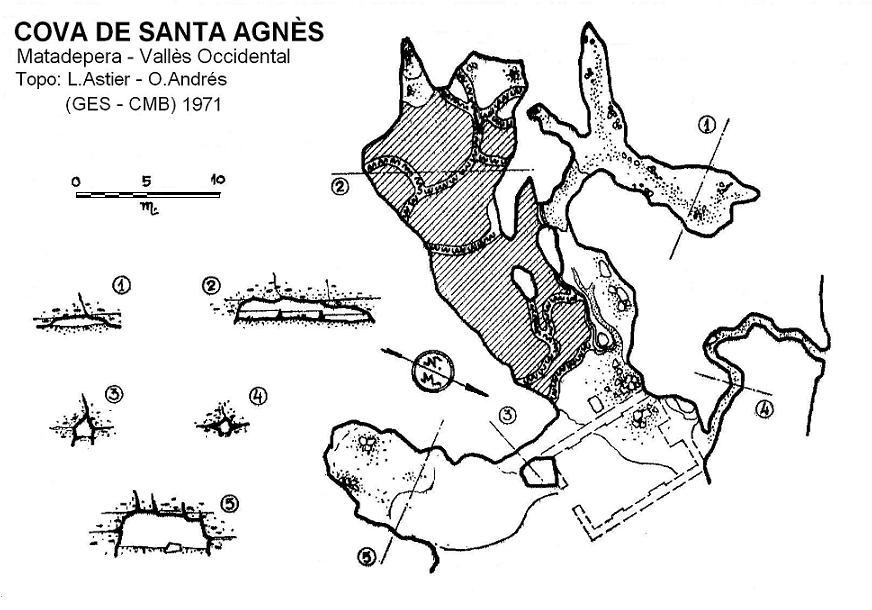 topo Cova de Santa Agnès