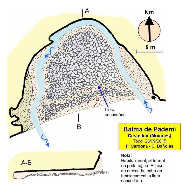 topo Balma del Pademí