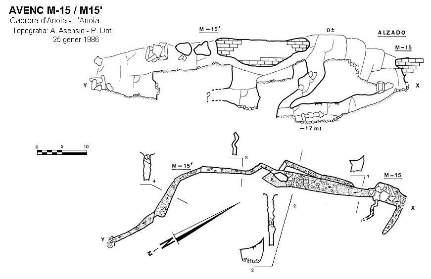 topo M-15/15'