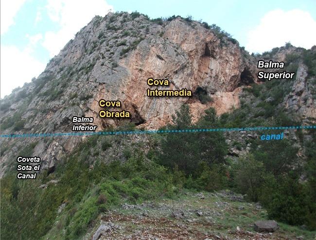 foto Cova Intermèdia de la Roca d'urús