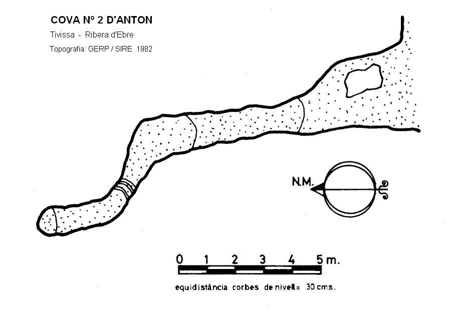 topo Cova Nº2 d'Anton
