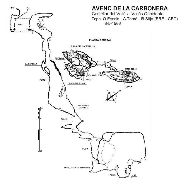 topo Avenc de la Carbonera