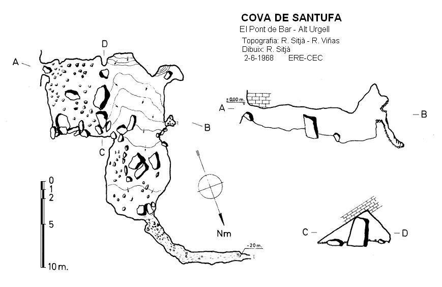 topo Cova de Santufa
