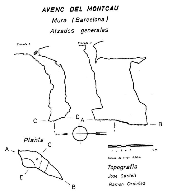 topo Avenc del Montcau