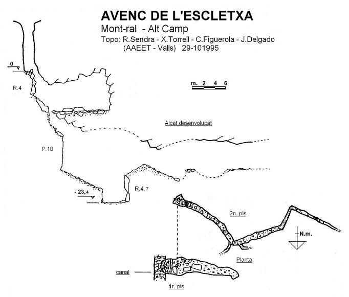 topo Avenc de l'Escletxa