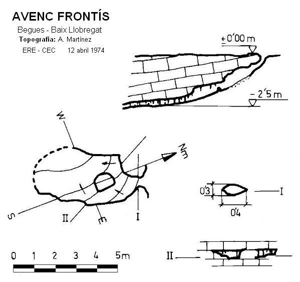 topo Avenc Frontís
