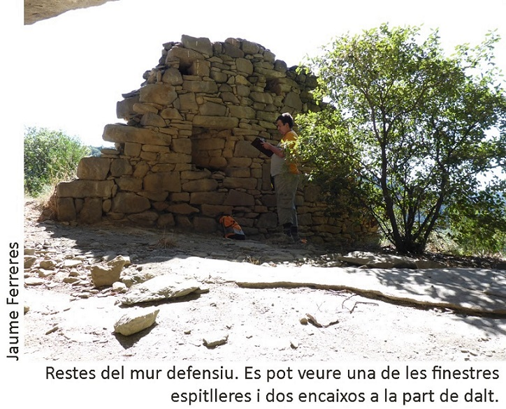 foto Balma del Castell de la Fossa