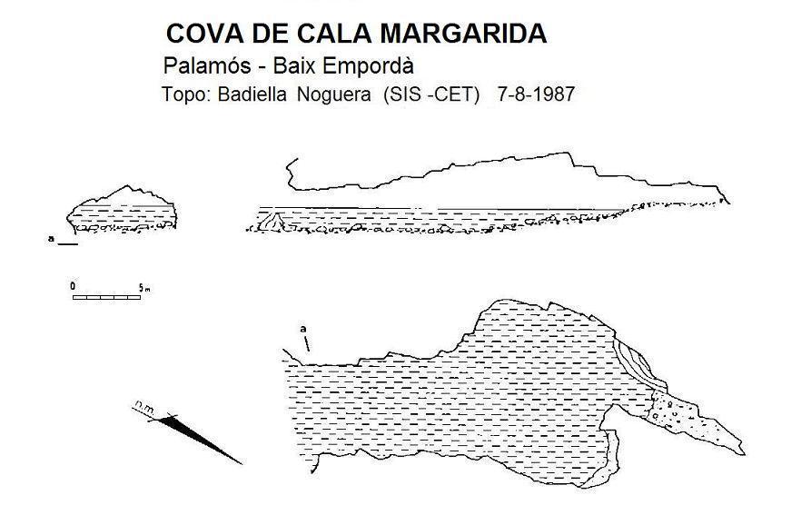 topo Cova de Cala Margarida