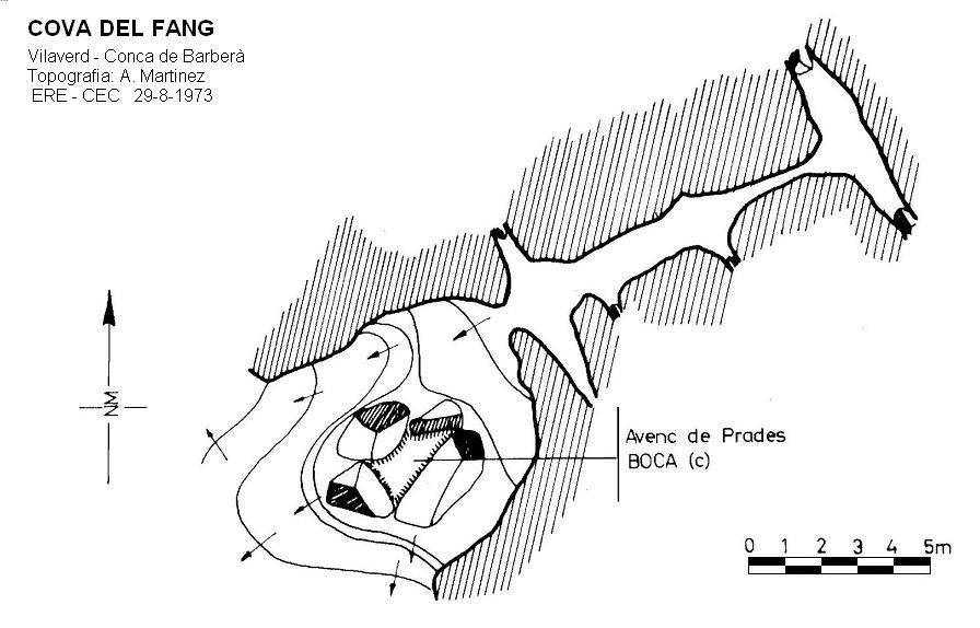 topo Cova del Fang