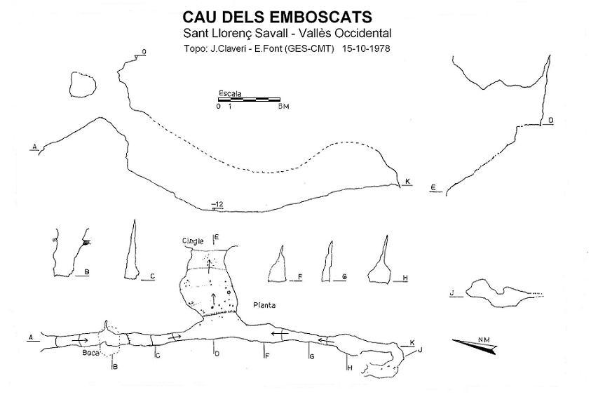 topo Cau dels Emboscats