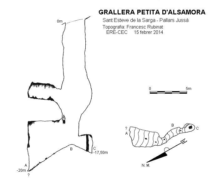 topo Grallera Petita d'Alsamora