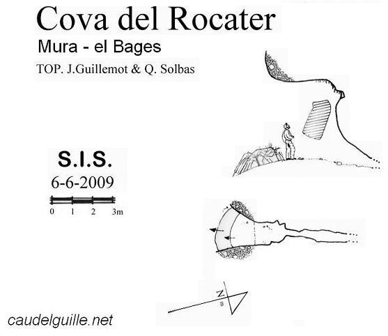 topo Cova del Rocater