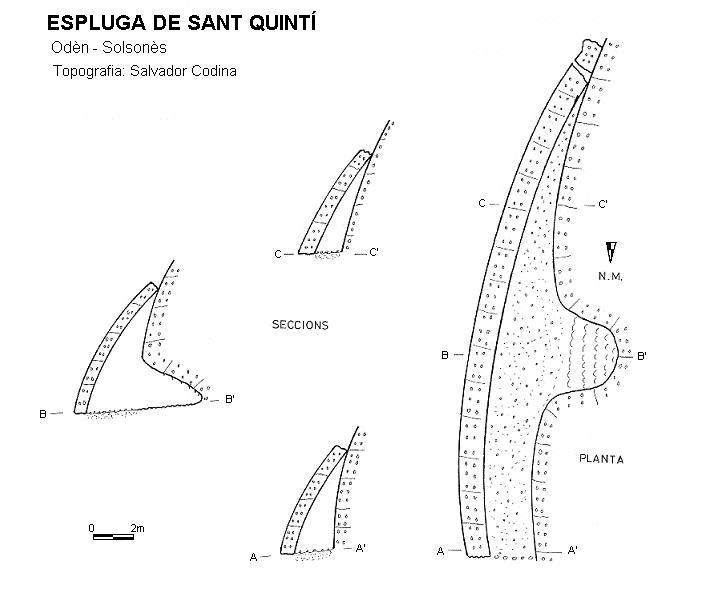 topo Espluga de Sant Quintí