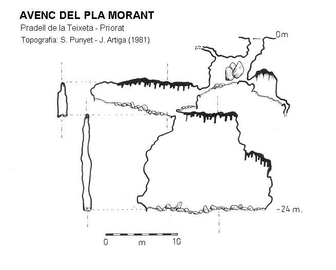 topo Avenc del Pla Morant