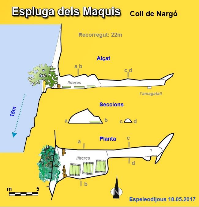 topo Espluga dels Maquis
