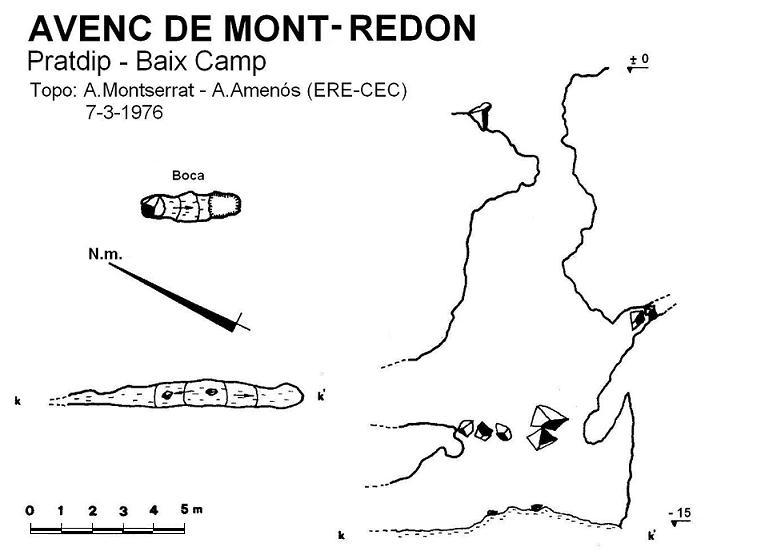 topo Avenc de Mont-redon