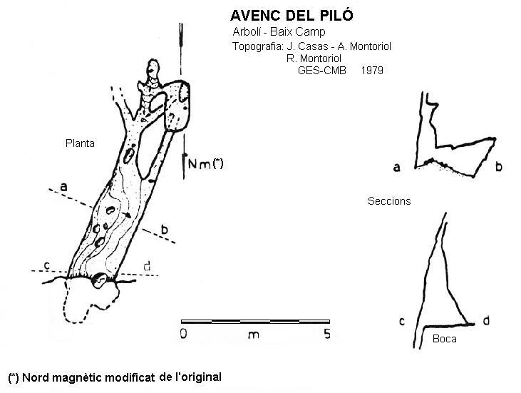 topo Avenc del Piló