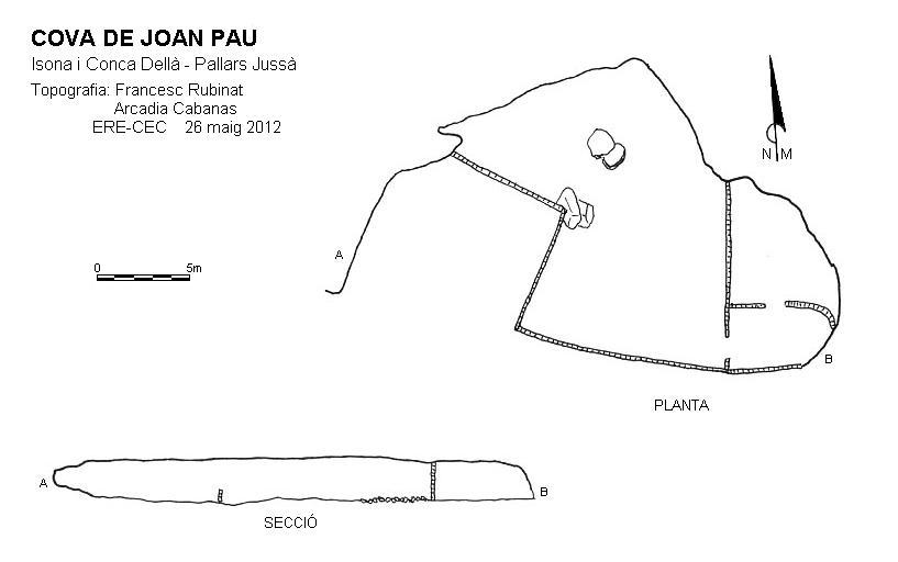 topo Cova de Joan Pau