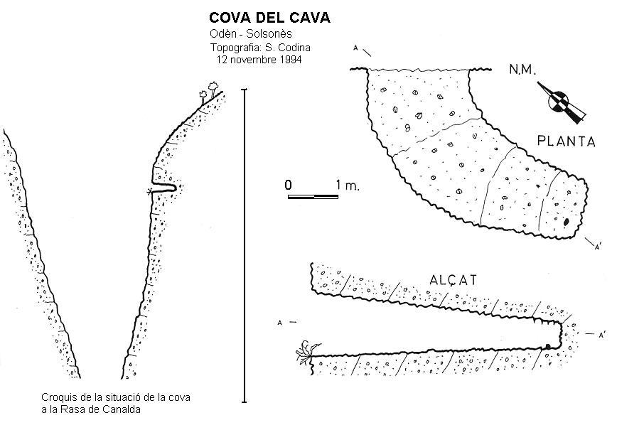 topo Cova del Cava