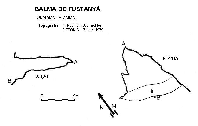topo Balma de Fustanyà
