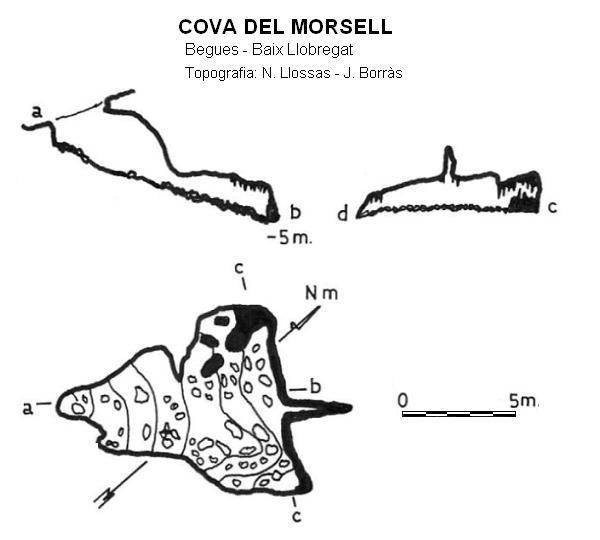 topo Cova del Morsell
