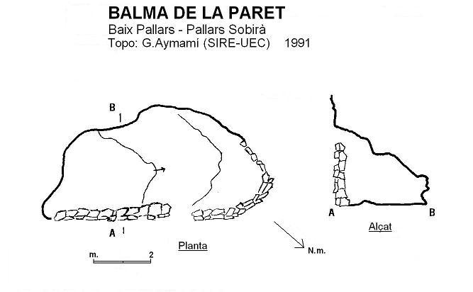 topo Balma de la Paret