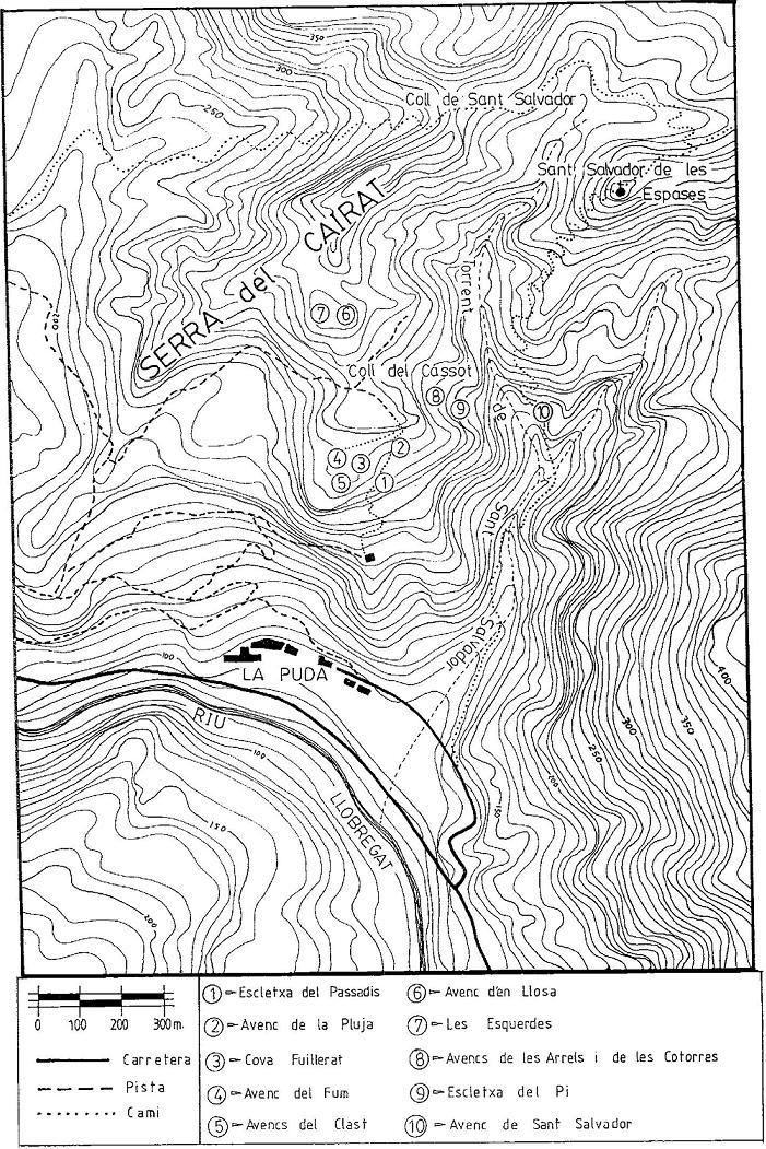 topo Escletxa del Passadís