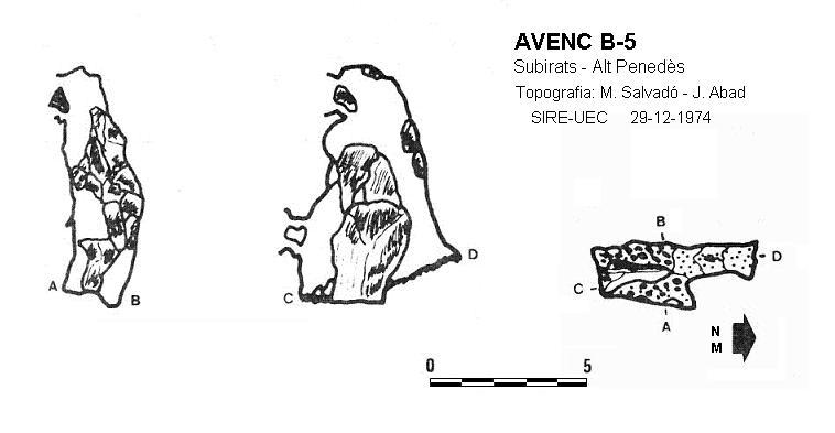 topo Avenc B-5