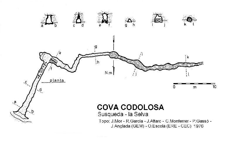 topo Cova Codolosa