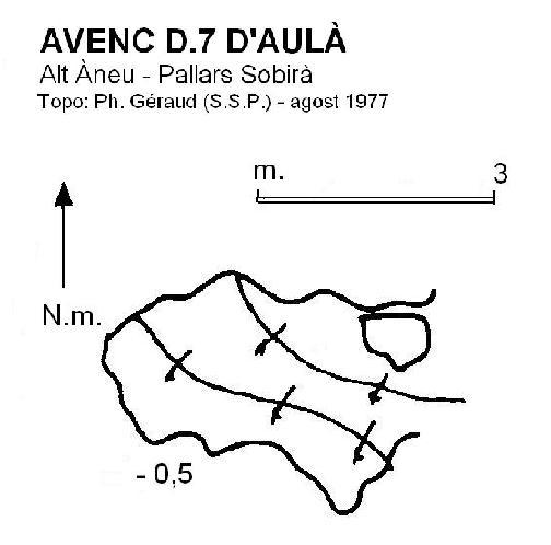 topo Avenc D.7 d'Aulà