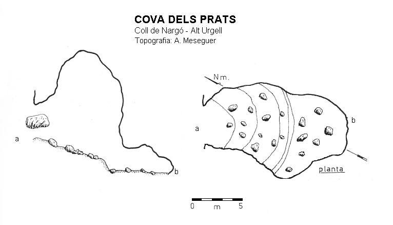 topo Cova dels Prats
