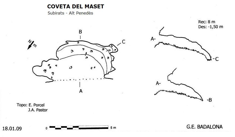 topo Coveta del Maset