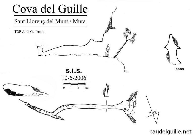 topo Cova del Guille