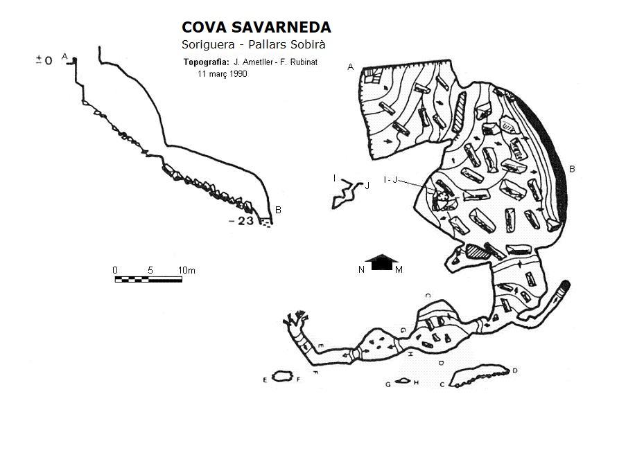 topo Cova Savarneda