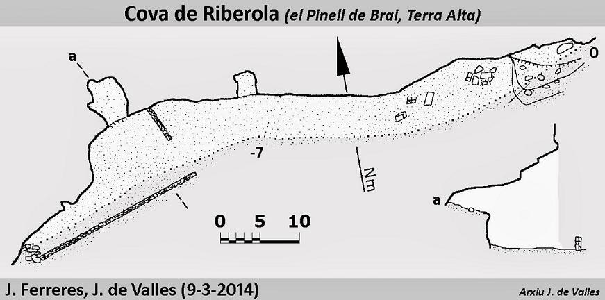 topo Cova de Riberola