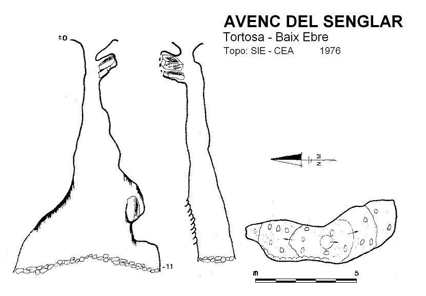 topo Avenc del Senglar