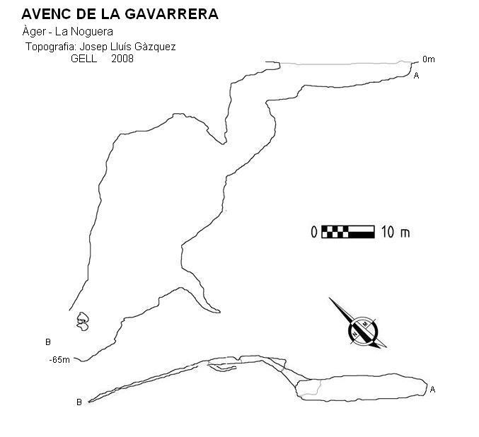 topo Avenc de la Gavarrera