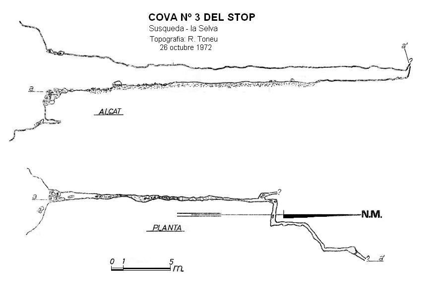 topo Cova Nº3 del Stop