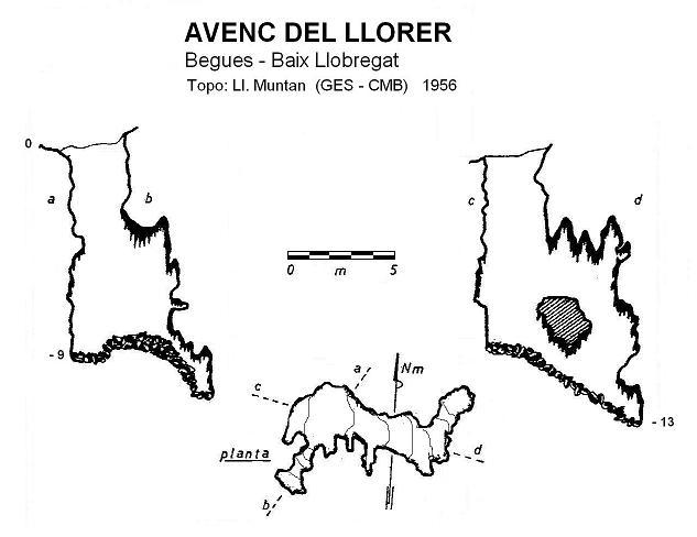 topo Avenc del Llorer