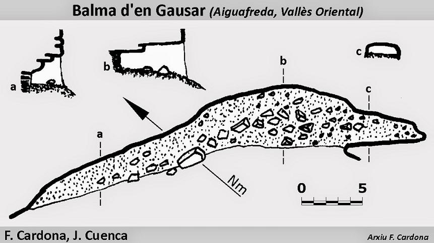 topo Balma d'en Gausar