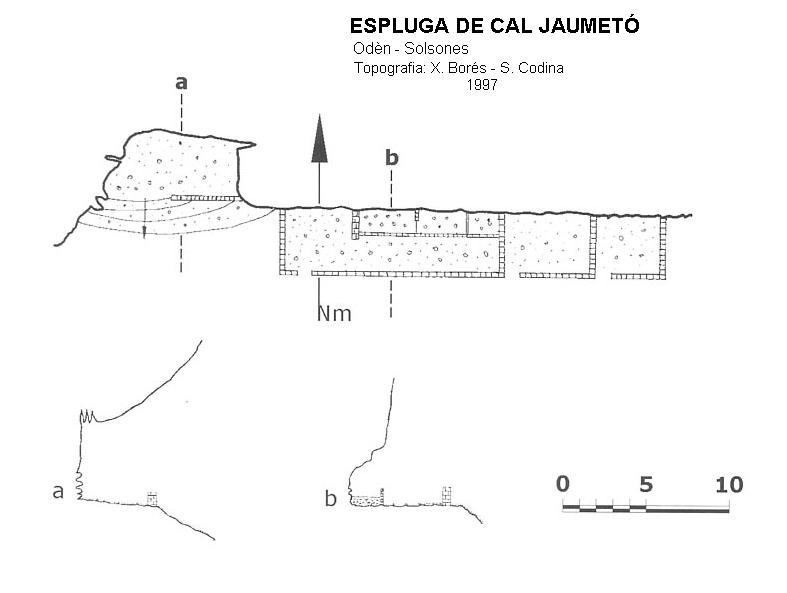 topo Espluga de Cal Jaumetó