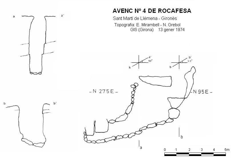topo Avenc Nº4 de Rocafesa
