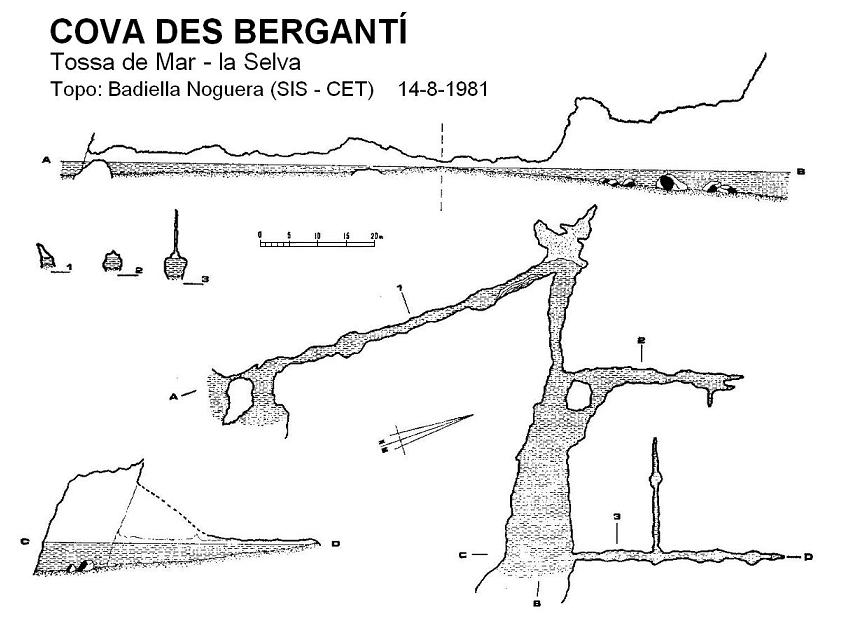 topo Cova Des Bergantí