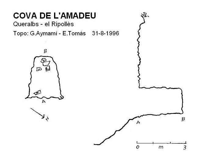 topo Cova de l'Amadeu