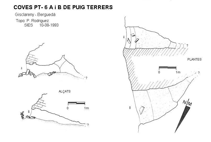 topo Cova Pt-6 de Puig Terrers