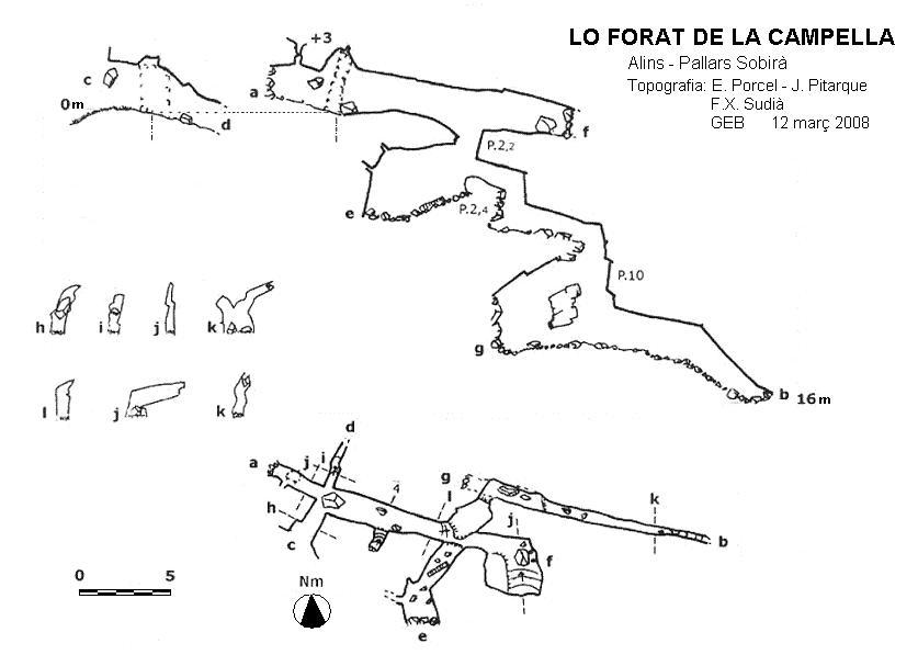 topo Lo Forat de la Campella