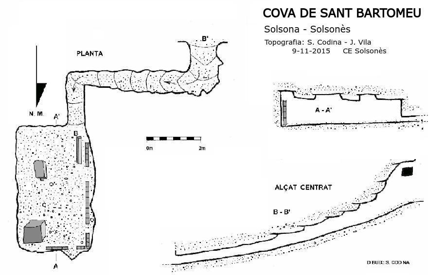 topo Cova de Sant Bartomeu