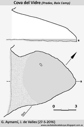 topo Cova del Vidre