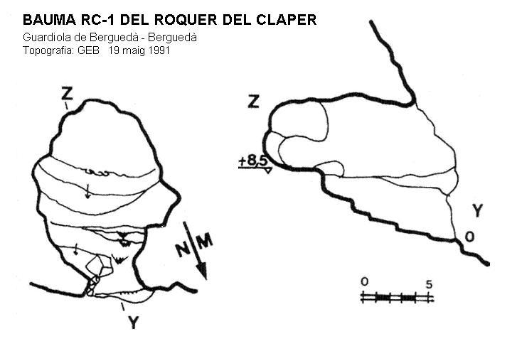 topo Bauma Rc-1 del Roquer del Claper
