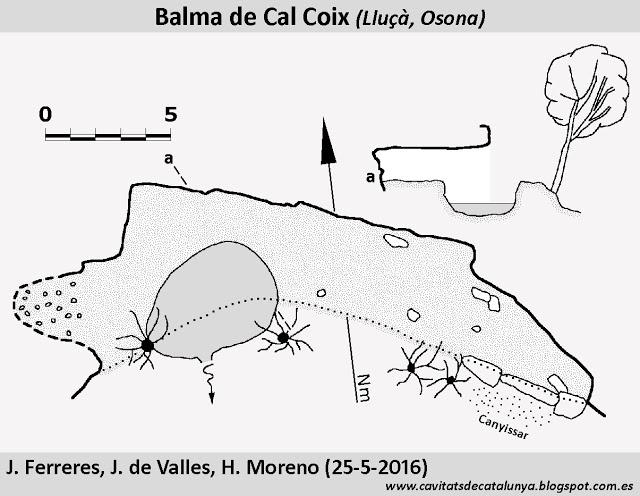 topo Balma de Cal Coix